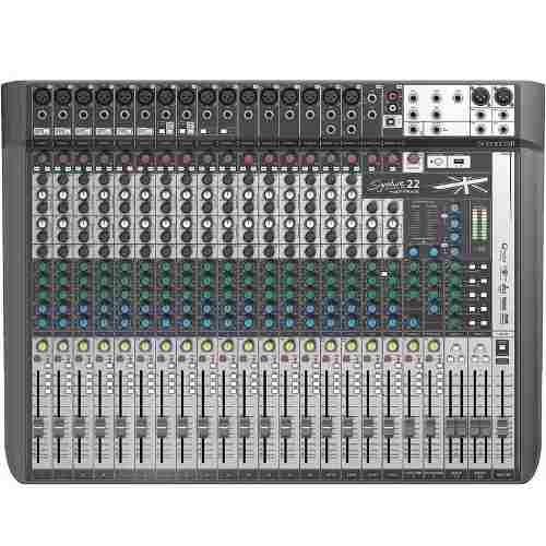 Mesa De Som Soundcraft Signature 22 Mtk Mixer Multi Pista