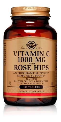 Vitamina C 1000 Mg With Rose Hips
