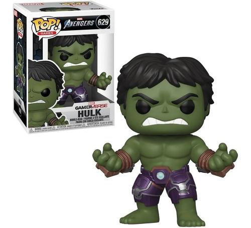Funko Pop Games Figura Hulk 629 Avengers Marvel Original Edu