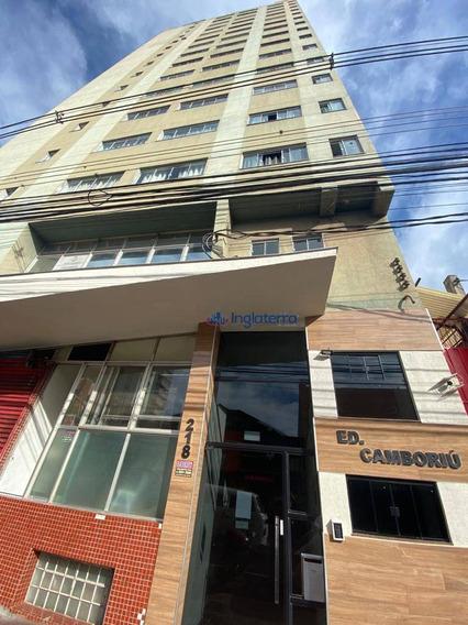 Apartamento Para Alugar, 53 M² Por R$ 750,00/mês - Centro - Londrina/pr - Ap0135