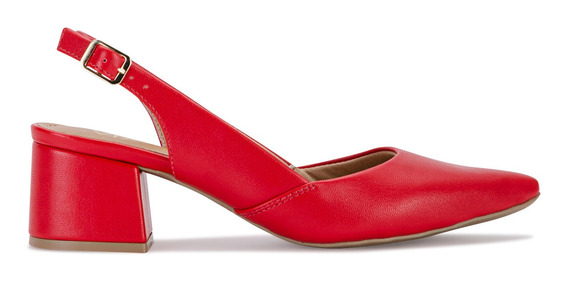 Zapatos Mujer Bernardeta Rojo Viamo