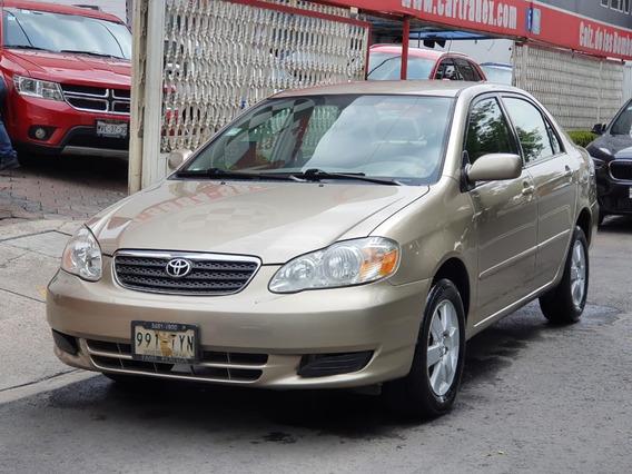Corolla Le 2006 Aut Factura De Agencia Recibo Auto!!