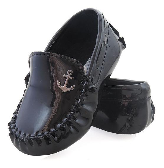 Sapato Mocassim Infantil Tamanho Costura Manual 12x S/juros