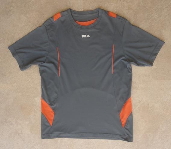 Camiseta Masculina Fila Academia Running 100% Poliamida M