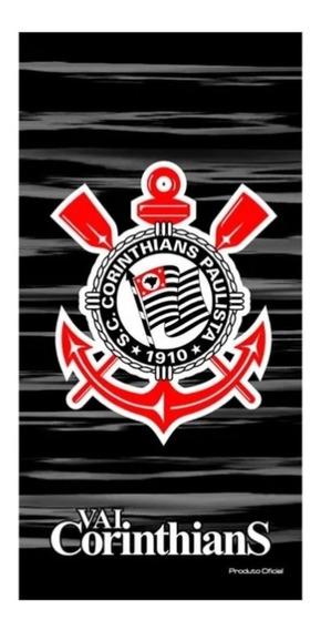 Toalha Corinthians Banho Praia Aveludada Buettner 63794