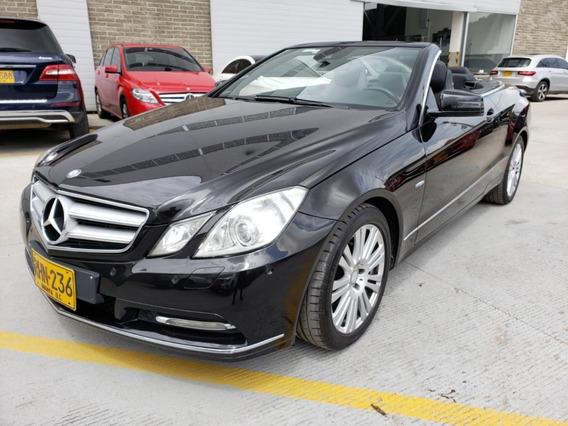 Mercedes-benz Clase E Cabriolet Aut 1.8 Litros 2011
