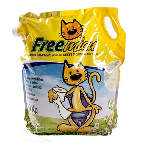 Arena Para Gatos Freemiau 10 Kg
