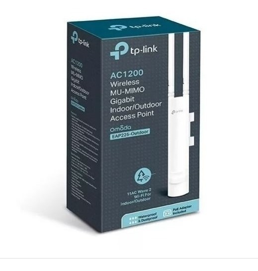 Tp-link Ap Eap225-outdoor 2.4/5ghz 1200mbps 2x2 Mimo Ac1200