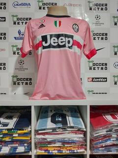 Camisa Juventus 2015-16 Rosa Dybala 21 Serie A