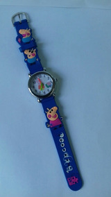 Relógio Peppa Pig - Azul Cod. 00332