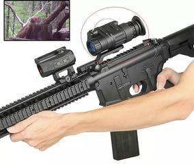 Visão Noturna Monóculo Luneta Arma Rifle Espingarda Caça Mir