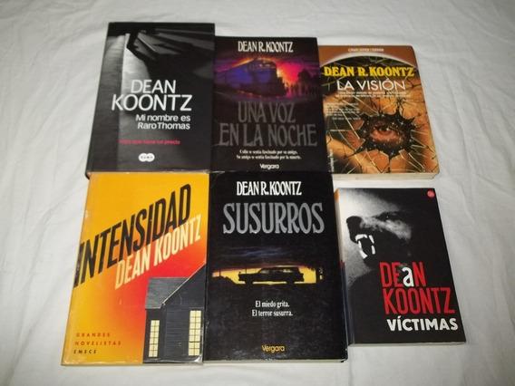 Livro Dean R. Koontz Lote C/ 6 Titulos Em Espanhol Escolha