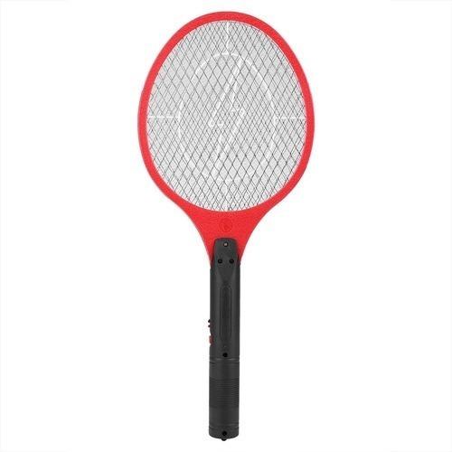 3 Un Raquete Elétrica Mosca Mosquito Pernilongo Recarregável
