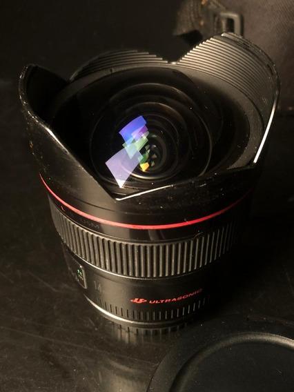 Lente Canon 14mm Serie L 2.8