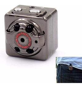 Mini Câmera Filmadora Sq8 Full Espiã Pronta Entrega Brasil