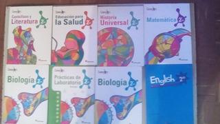 Libros Santillana 7º Y 8º Grado, Enciclopedia, Diccionarios