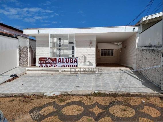 Casa Com 3 Dormitórios Para Alugar, 271 M² Por R$ 3.900,00/mês - Jardim Chapadão - Campinas/sp - Ca14250