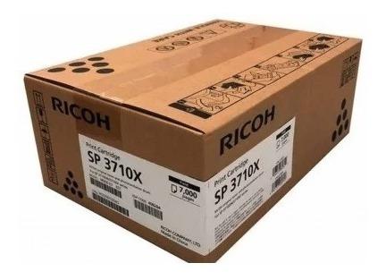 Toner Ricoh Sp3710 Sp3710sf Sp3710dn 408284 Original 7k 3710