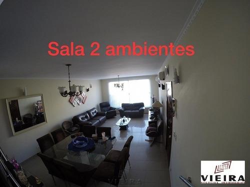 Imagem 1 de 15 de Linda Casa 04 Vagas De Garagem, Com Varanda Gourme - 3080-1