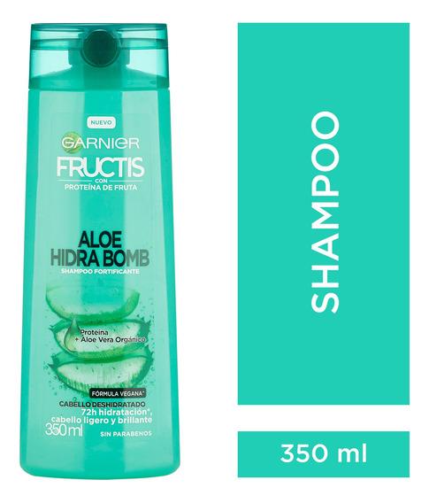 Shampoo Fructis Aloe Hidra Bomb 350 Ml Garnier