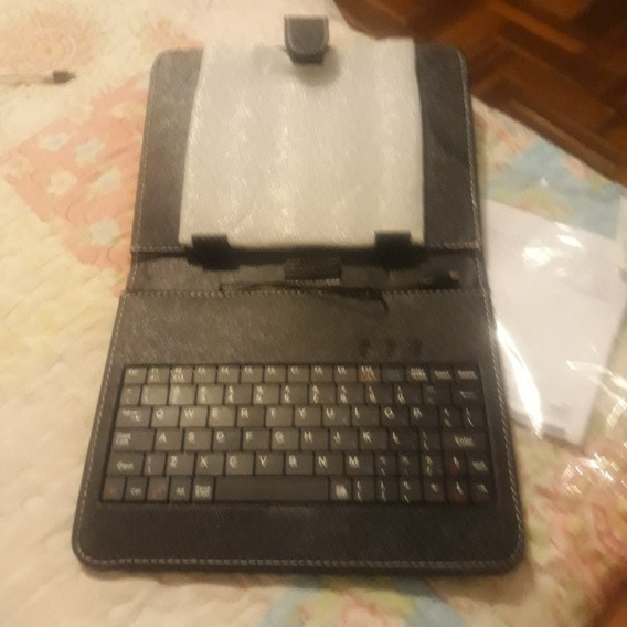 Teclado Sem Fio Com Capa Para Tablet 8