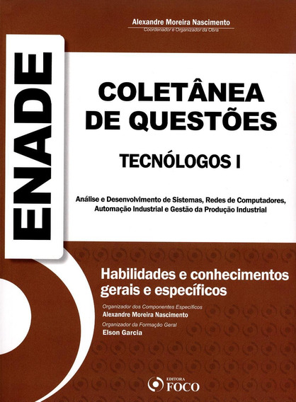Coletânea De Questões Enade - Tecnólogos I