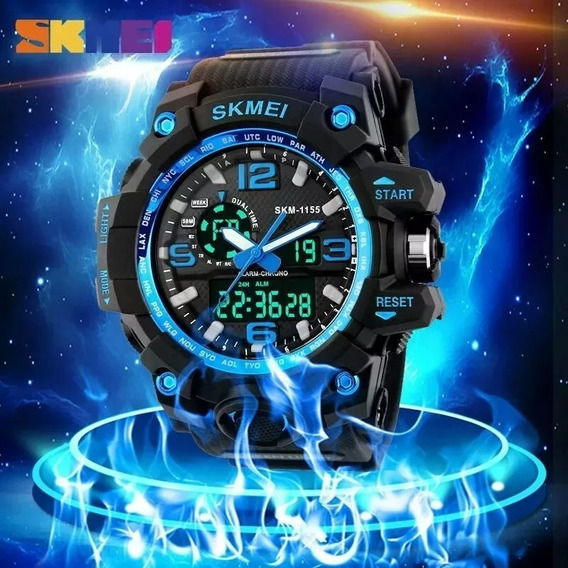 Relógio Masculino Skmei 1155 Led Digital Quartz