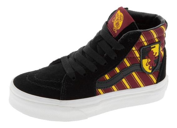 Vans Harry Potter Gryffindor Sk8 Hi Skate Edición Especial