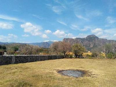 Terreno Completamente Plano En Amatlán Con Hermosa Vista