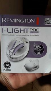 Depiladora Luz Pulsada Remington I-light Pro Ipl6000f