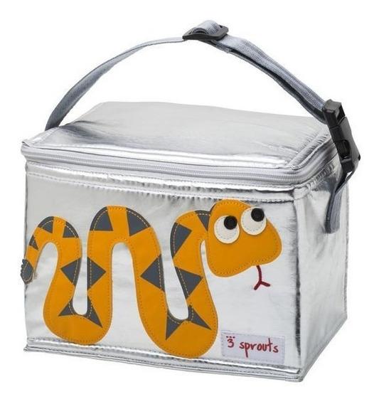 Lunch Bag 3 Sprouts Serpiente Amarillo