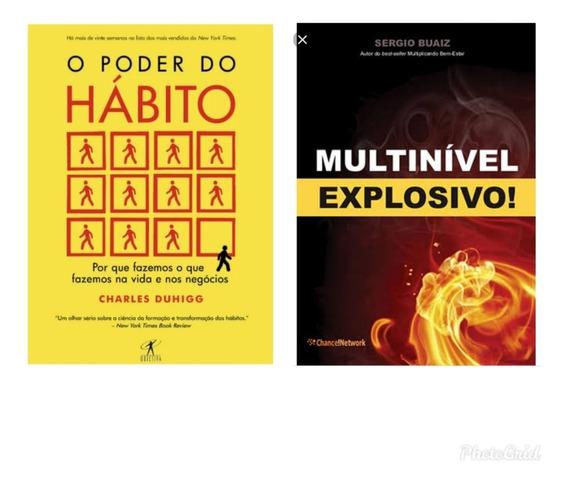 Kit De Livros O Poder Do Hábito+ Multinível Explosivo