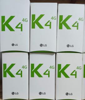 Lg K4 K130f 8gb Azul, Lacrado, Nf, Garantia.