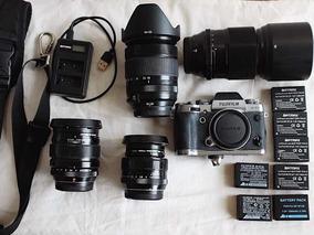 Kit Mirrorless Camera Fuji Xt1, Lentes 23, 35, 90, 18-135mm