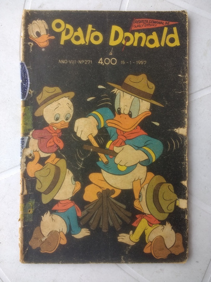 O Pato Donald Nº 271 - 15 Janeiro De 1957 - Editora Abril