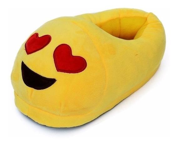 Pantuflas Emoticones Emoji Mujer Hombre Y Chicos Casa Cindy