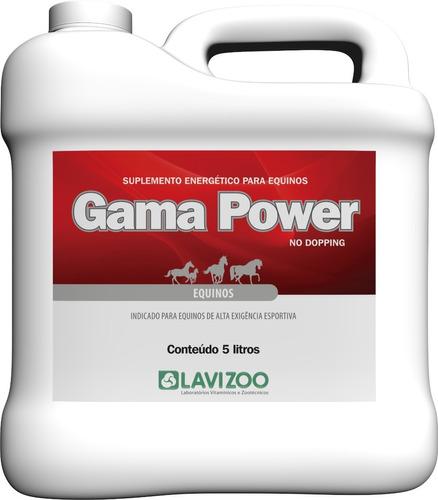 Suplemento Gamma Power 5 Lts