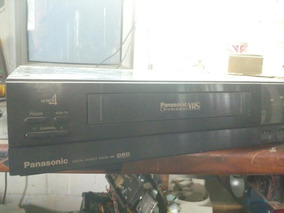 Vídeo Cassete Panasonic 4 Cabeças Ominivision Pv4905 Japan