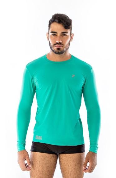 Kit 3 Blusas Masculina Para Natação Térmicas Proteção Uv