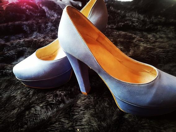 Zapatos Mary Joe Cuero No/sarkany