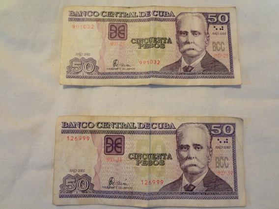 Notas De Cuba.. Cincuenta Pesos 38