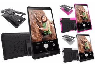 Case Anti Impacto Con Stand Holder Para Huawei Mate 8 Mate 9