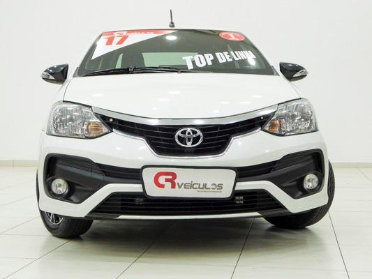 Toyota Etios 1.5 16v Platinum Aut. 5p 2017