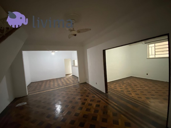Casa Comercial Para Alugar Na Rua Santa Clara - Copacabana - Rio De Janeiro - Rj - Liv-5242