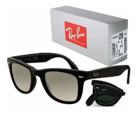 Gafas Ray Ban Wayfarer Folding Envío Gratis