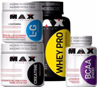 Whey Barato Pro +m +creatina + Glutamina - Brinde Bcaa 60 Ca