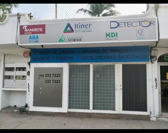 Manzanillo Local Comercial Pequeño Principal Avenida
