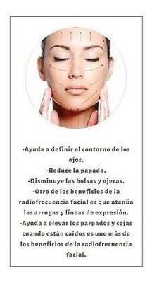 Peeling/radiofrecuencia/limpieza Facial