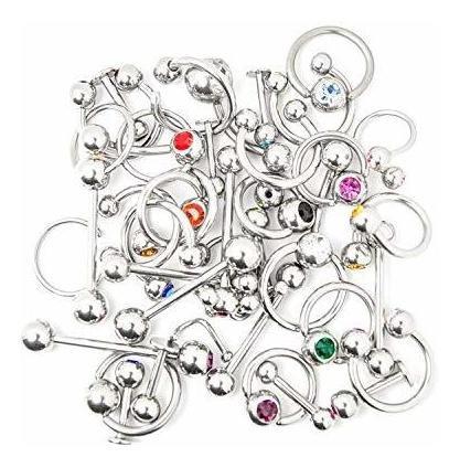 Imagen 1 de 1 de Joyeria Corporal Bodyjewelryonline Labio, Oreja, Pezon