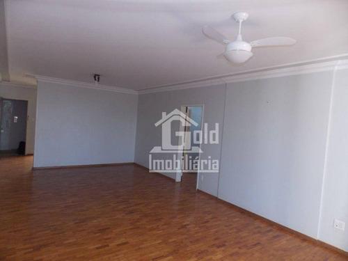 Apartamento Com 3 Dormitórios À Venda, 171 M² Por R$ 350.000,00 - Centro - Ribeirão Preto/sp - Ap4420
